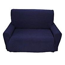 Home Sofa Covers Elastic Protector For 2 Seater Blue