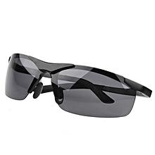 6921fa831db9 AORON Men Aluminum Magnesium Polarized Sunglasses Luxury Rimless Rectangle  Goggles Male UV400 Glasses HD Driving Eyewear