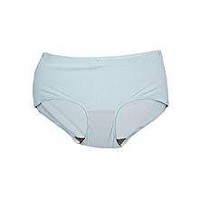 Blue Seamless Panties