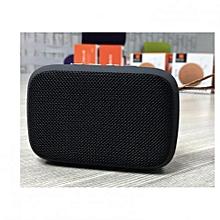 Desktop Wireless Bluetooth Stereo Speaker with MicroSD Slot/ Flashdisk and Radio - Black