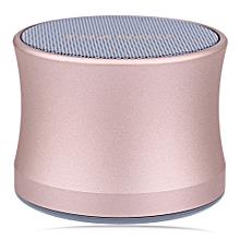 TRANGU KS - 01 Bluetooth Speaker TF Card Music Player Sound Stereo-PLATINUM