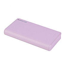 HP-18000MAH USB External Power Bank Battery Powered Charger For Smart Phones pink