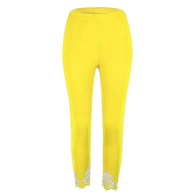 17e442123d Leggings for Women Capri Yoga Pants Slim Workout Leggings Print Cropped  Trousers Sweatpants S-5XL