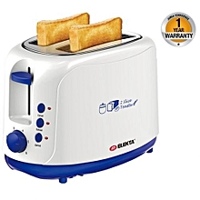 Two Slice Bread Toaster - White