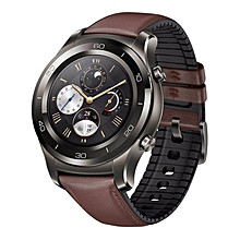 LEBAIQI Huawei Watch 2 Pro Smart Watch Support LTE 4G Phone Call Heart Rate Tracker For Android IOS IP68 Waterproof NFC GPS Silver