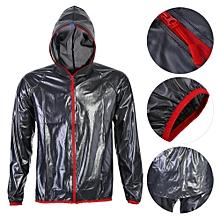 Unisex Outdoor Windproof Waterproof Rainwear Suits Cycling Sports Rain Coat Pants (L)