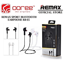 REMAX RB-S5 BLUETOOTH SPORTS LOCKER SHAPE HEADPHONE WITH MAGNETIC DESIGN  OPTTCOOL