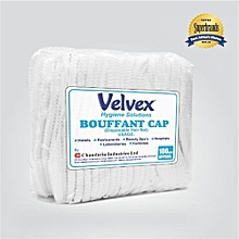 White Hair Nets (15 inches) - 100 Pack