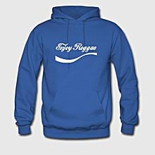 Royal Blue Long Sleeved Unisex Hoodie