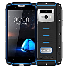 VK7000 Triple Proofing Phone 4GB+64GB IP68 Waterproof Dustproof Shockproof 5600mAh Battery 5.2 inch Android 8.0 MTK6750T Octa Core up to 1.5GHz 4G Smartphone(Blue)