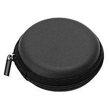 1Pc Hold Case Storage Carrying Hard Bag Box for Earphone Headphone Earbuds Memory Card - Black