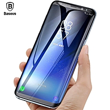 Baseus 3D 0.3mm Screen Protector For Samsung Galaxy S8 Plus 9H Tempered Glass 3D Curved Protective Glass Film For Samsung S8 ( This product link is only for Samsung Galaxy S8 ) LJMALL