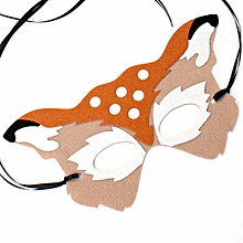 Deer Animal Mask Universal Party Dance Mask Cosplay Supply For Children Adult