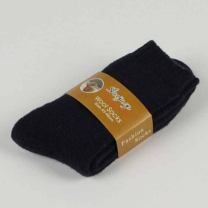 4e56ee8214d2b 5 Pair/lot Socks Mens Thicken Thermal Wool Cashmere Casual Winter Warm Socks  Cotton Casual