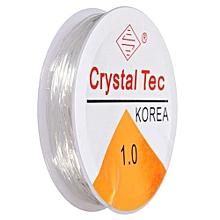 1mm Crystal Tec Stretch Silicon Elastic String Bead Craft Cord