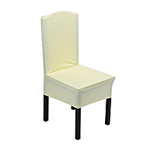 Elastic Chair Covers Home Seat Slipcover Decoration #Light Yellow
