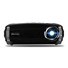 BL58 3200 Lumens 1280*768 200 Inch Multimedia Projector US Plug - Black