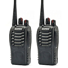 1 Pair 2 Units BaoFeng BF-888S16 16 Channel Walkie Talkie Set UHF 5W