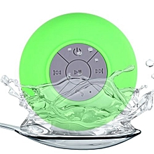 Portable Subwoofer Shower Waterproof Wireless Bluetooth Speaker Car Handsfree Receive Call Music Suction Mic