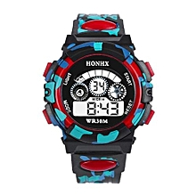 Tectores 2018 Fashion Multifunction Outdoor Multifunction Waterproof Kid Child/Boy's Sports Electronic Watches RD
