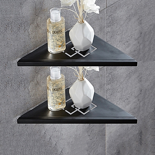 Buy Generic Wf 18062 2pcs Bathroom Shelves Brushed Nickel Stainless