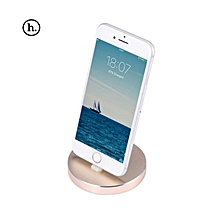 P5 - 8 Pin Charging Sync Dock For IPhone - Golden
