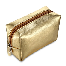 Luxurious Clutch Women Makeup Storage Bag-GOLD