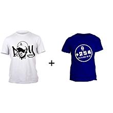 Boy child White T-shirt Design and Blue +254 T-shirt Design