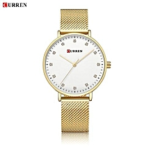 Women Watch New Quartz Wristwatches Top Brand Luxury Fashion Watches Ladies Quartz Wristwatch - GOLD