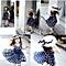 Kids Children Clothing Polka Dot Girl Chiffon Sundress Dress BU/XXL