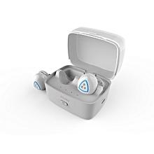 D900S Sports Wireless Bluetooth 4.0 Headphone IPX4 Waterproof Earbud(White)