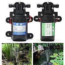DC12V 3.5L/Min 0.48MP Mini Micro Diaphragm High Pressure Self Priming Water Pump Blue