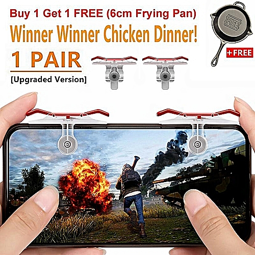 1Pair New Upgraded Version PUBG ROS Eat Chicken Games Shortcut Key Joystick  L1R1 Shooter Controller PUBG Joysticks Auxiliary Game Button For Rules Of