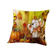 Halloween Pillow  Sofa Pumpkin ghosts Cushion Cover Home Decor
