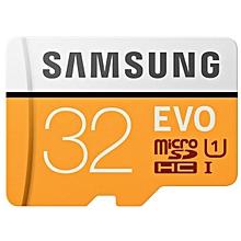 EVO UHS-3 Micro SDXC Memory Card - Orange + White