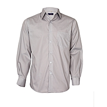 Cadet Grey Long Sleeved Shirt