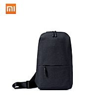 Multifunctional Sling Bag Leisure Chest Bag Casual Large Capacity Backpacks Polyester Rucksack for Men Women