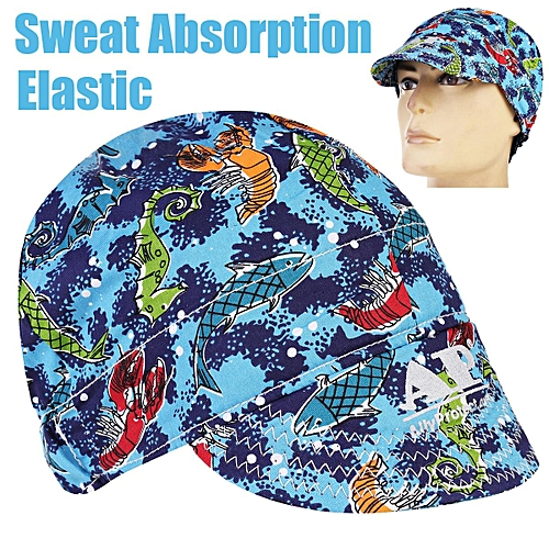 Generic Universal Sweat Absorption Elastic Welding Welder Hat Cap Cotton  Sea World d1a7d3d08c1
