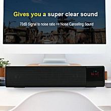 Wireless Sound Bars for TV LED Noise Cancelling Bluetooth Soundbar FM Radio Heavy Bass Home Theatre Soundbar