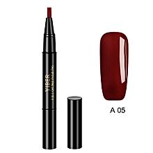 Glitter Nail Art Pen UV Gel Nail Polish Pens DIY Nail Painting Design Beauty Tools Optional 20 Colors