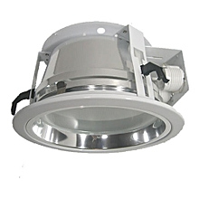 Horizontal Downlight with glass diffuser