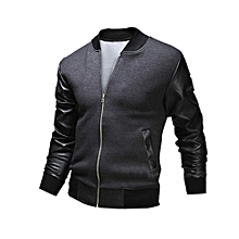 Men Genuine Black Leather Motorcycle Jacket Size 6 Xl Jade White Apparel & Merchandise Parts & Accessories