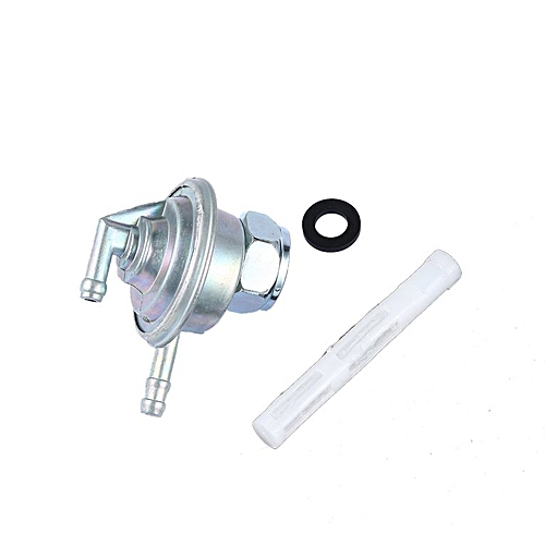 Fuel Switch Vacuum Pet For Gy6 50cc-150cc Engine Atv Go Kart Moped Scooter  Sliver