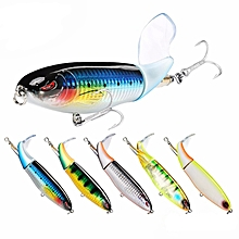 SeaKnight SK050 5pcs/set 90mm 13g Wopper Plopper Fishing Lure Rotating Tail Hard Bait Sea Fishing