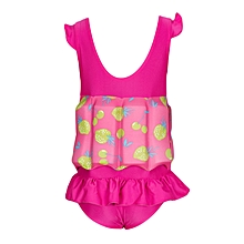Pink & Green Swimsuit With Removable Floating Foams