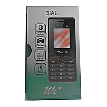 Dial Feature Phone 1.8'' Lcd ,512MB RAM, Dual Sim - Red , Airtel Branded