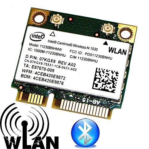11230BNHMW Wifi+BT Wireless Card PCI-E 300Mbps 2 4 GHz 7KGX9 802 11n for  intel 1030 Dell Inspiron N4110 N7110 N5110( )