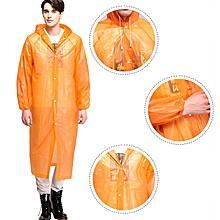 1pcs Adult Universal Transparent Men Raincoat Rain Cover Poncho Travel Women Rain-wear Waterproof Camping Outdoor Hooded