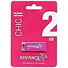 USB Flash Disk Smart - 2GB - Pink