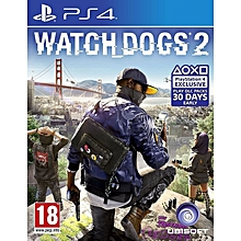 PS4 Game Watchdogs 2
